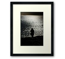 The Coastwatcher Framed Print