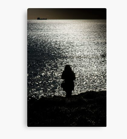 The Coastwatcher Canvas Print