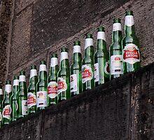 Ten green bottles hanging on a wall...  by Marta69