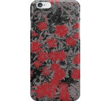 chalky flowers iPhone Case/Skin