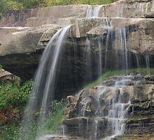 Top of Brandywine Falls, Ohio by waimages
