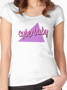 cyberbaby Women's Fitted Scoop T-Shirt