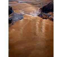 Golden Stream - Rock Creek Park, Washington, DC Photographic Print