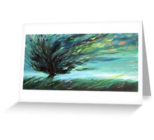 Windy Emotions Greeting Card