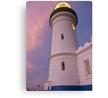 Cape Byron Lighthouse, looking up, 16/11/2010 Canvas Print