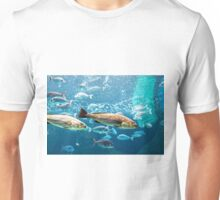 Big silver fishes Unisex T-Shirt