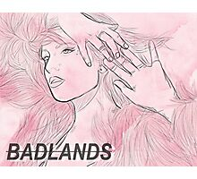 Halsey drawing Photographic Print