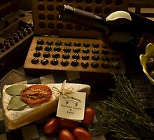 Cheese and olives by mike  narciso