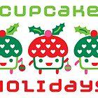 Cupcake Holidays - card by Andi Bird