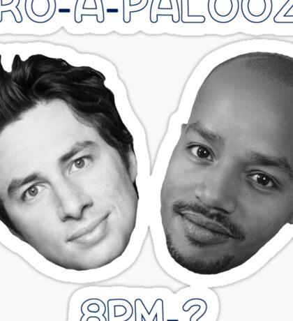 Bro-A-Palooza Sticker