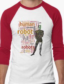 Human Robot Men's Baseball ¾ T-Shirt