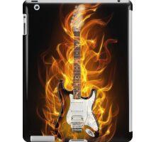 guitar flames iPad Case/Skin