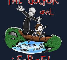Calvin and Hobbes Doctor by BovaArt