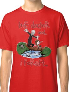 Calvin and Hobbes Doctor Classic T-Shirt