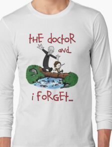 Calvin and Hobbes Doctor Long Sleeve T-Shirt