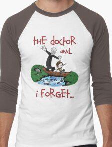 Calvin and Hobbes Doctor Men's Baseball ¾ T-Shirt