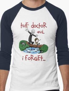 Calvin and Hobbes Doctor Men's Baseball ¾ T-Shirt