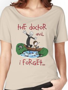 Calvin and Hobbes Doctor Women's Relaxed Fit T-Shirt