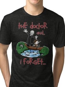 Calvin and Hobbes Doctor Tri-blend T-Shirt