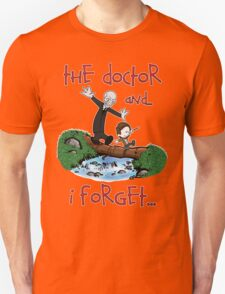 Calvin and Hobbes Doctor Unisex T-Shirt