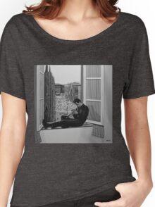 Chet Baker painting Women's Relaxed Fit T-Shirt