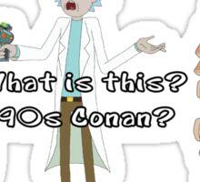 Rick and Morty: 90s Conan Sticker