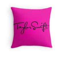 Taylor Swift logo Throw Pillow