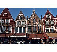 Town Square - Brugges, Belgium #1 Photographic Print