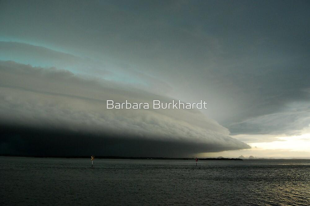 The Big Storm - SE Queensland by Barbara Burkhardt