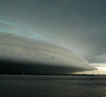 The Big Storm - SE Queensland by Barbara Burkhardt