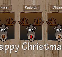 Three Reindeers by YellowGecko