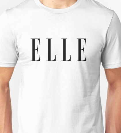 ELLE Fashion Unisex T-Shirt