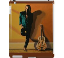 Chris Whitley painting iPad Case/Skin