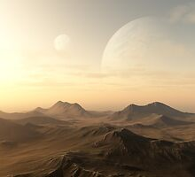 Planet Rise by algoldesigns