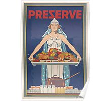 United States Department of Agriculture Poster 0168 Preserve Food Poster