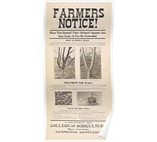United States Department of Agriculture Poster 0075 Insured Orchard Against San Jose Scale Control Poster
