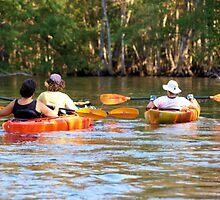a kayaker paradise by jdadkin