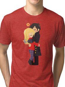 OUAT - Captain Hook and Emma Tri-blend T-Shirt