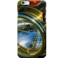 Brassy headlamp iPhone Case/Skin
