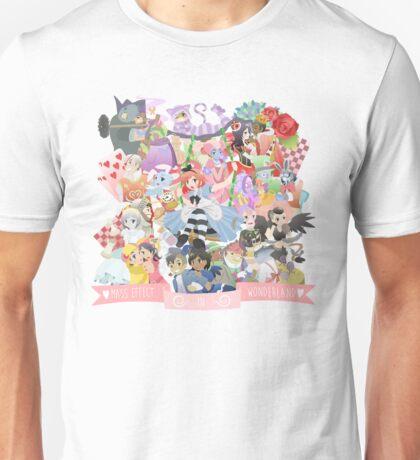 Mass Effect in Wonderland Unisex T-Shirt