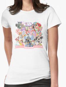 Mass Effect in Wonderland Womens Fitted T-Shirt