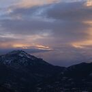 Winter Mountain View by John  Sperry