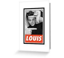 CELEB - Louis Tomlinson Greeting Card