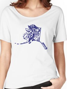 Alaska Design ~ t-shirts, cups, mugs, scarves, totes and more Women's Relaxed Fit T-Shirt