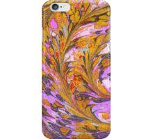 Orange and Purple Marble iPhone Case/Skin