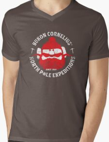Yukon Cornelius North Pole Expeditions Mens V-Neck T-Shirt