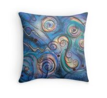 Distant Echoes Throw Pillow
