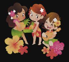 Tropical Trio One Piece - Short Sleeve