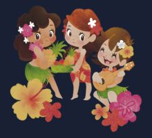 Tropical Trio Kids Tee