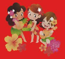 Tropical Trio Kids Tee